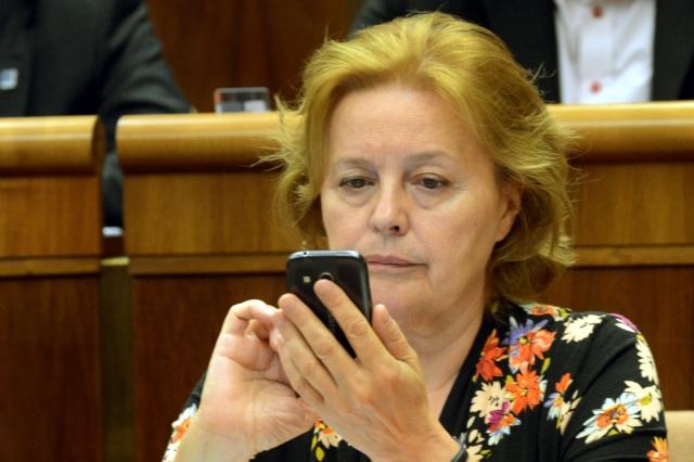 Na snímke nezaradená poslankyňa NR SR Magdaléna Vášáryová