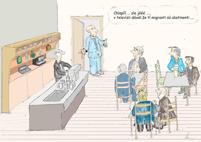 Karikatúra od Mira Havlíčka