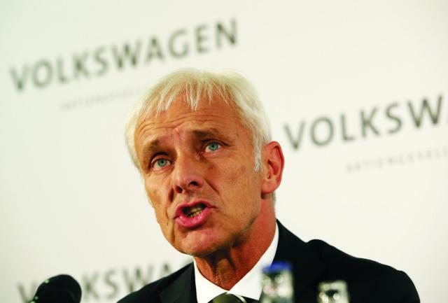 Nový šéf nemeckej automobilky Volkswagen Matthias Müller