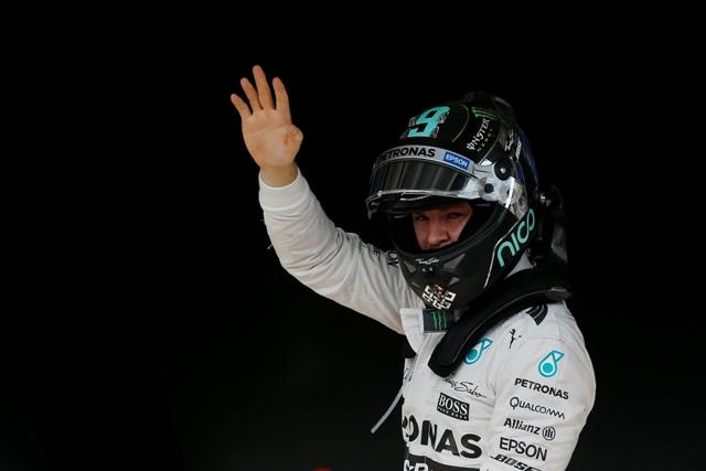 Na snímke Nemec Nico Rosberg na Mercedese