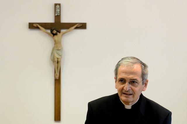 Na snímke predseda Konferencie biskupov Slovenska (KBS) Stanislav Zvolenský