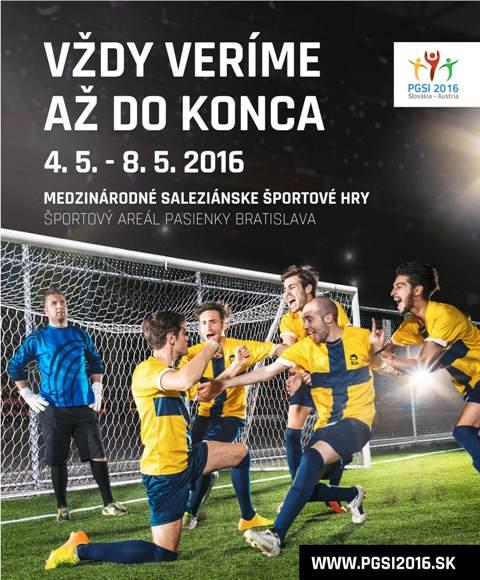 Organizátori predstavujú stránku, logo a motto Medzinárodných saleziánskych športových hier 2016