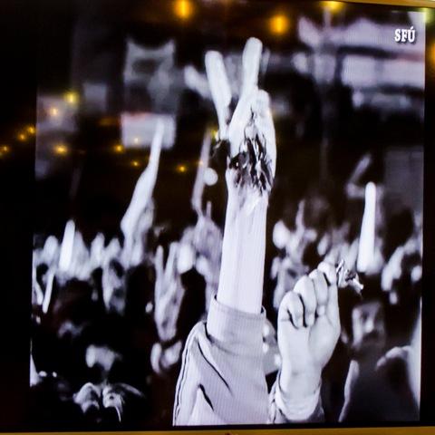Na snímke zábery z archívnych materiálov Národného filmového archívu Slovenského filmového ústavu