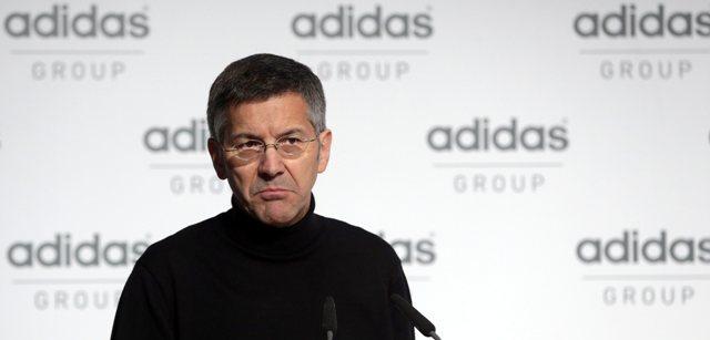 Na snímke šéf svetoznámeho výrobcu športových potrieb Adidas Herbert Hainer