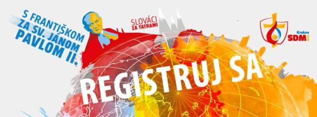 Začala sa oficiálna registrácia na Svetové dni mládeže do Krakova