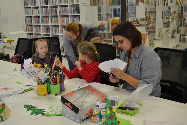 Predvianočným projektom Vianočná knižka sa otvára v Knižnici pre mládež mesta Košice vyvrcholia oslavy 60. výročia vzniku knižnice
