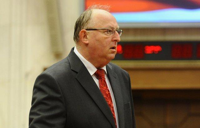 Na snímke poslanec NR SR Viliam Jasaň (Smer-SD)