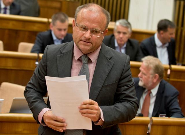 Na snímke poslanec parlamentu SR Jozef Mihál (SaS)