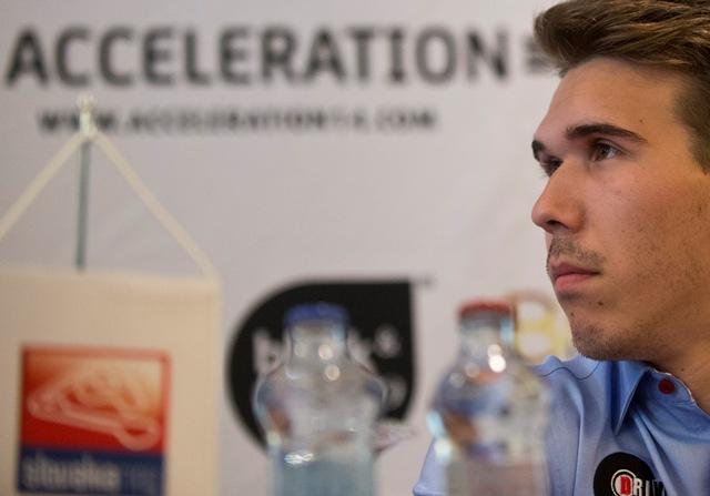 Na snímke slovenský pretekár Richard Gonda