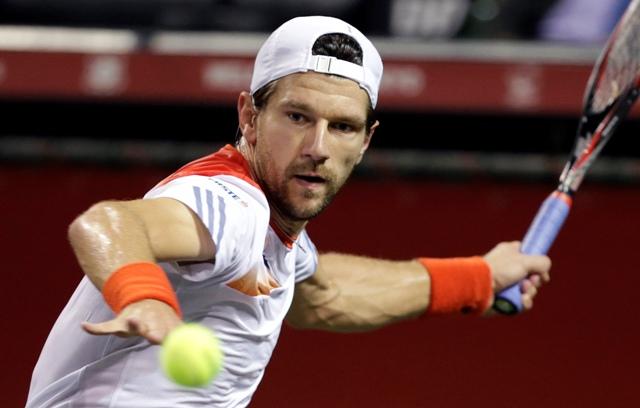 Na snímke rakúsky tenista Jürgen Melzer