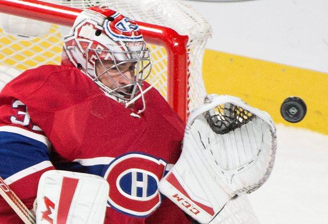 Na snímke brankár Canadiens Carey Price