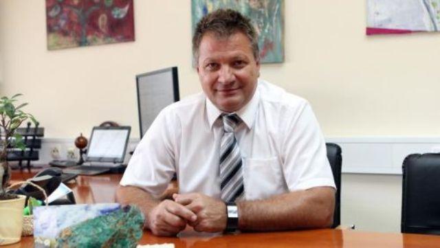 Na snímke starosta slovinského mestečka Šentilj Štefan Žvab