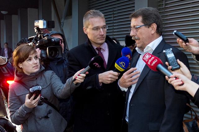 Na snímke vpravo Pavol Paška