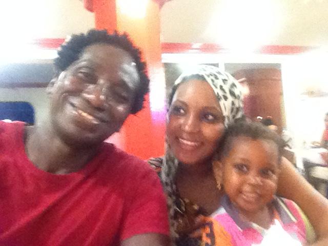 Ibrahim Maiga s blízkymi