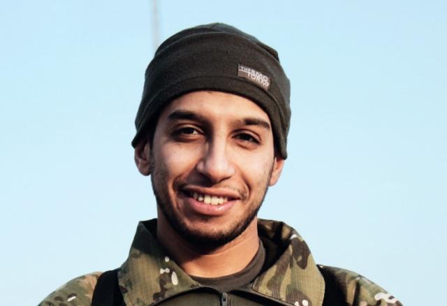 Na nedatovanej snímke je Belgičan marockého pôvodu Abdelhamid Abaaoud