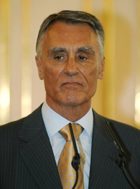 Na snímke prezident Portugalska Aníbal Cavaco Silva