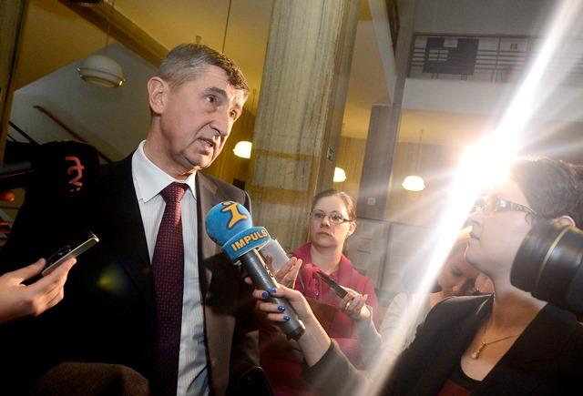 Na snímke nový minister financií ČR Andrej Babiš