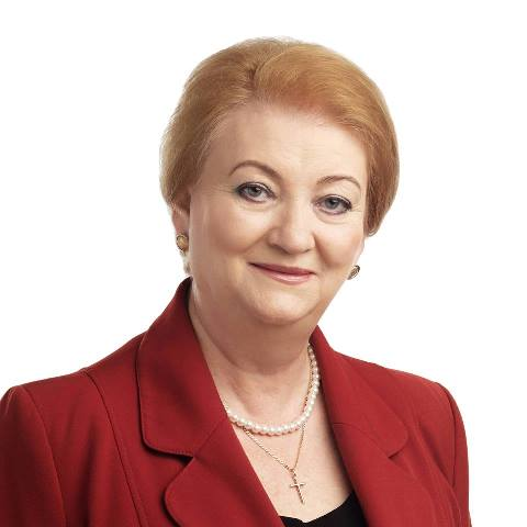 Na snímke Anna Záborská