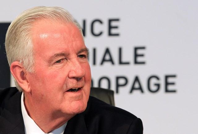 Na snímke prezident Svetovej antidopingovej agentúry WADA Craig Reedie
