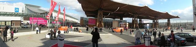 Ilustračné foto priestorov veľtržného objektu Hannover Messe