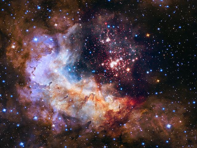 Foto: TASR/AP-NASA/ESA/Hubble Heritage Team/A. Nota, Westerlund 2 Science Team via AP