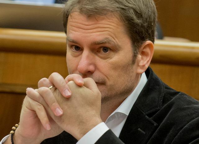 Na snímke poslanec parlamentu SR Igor Matovič (OĽaNO)