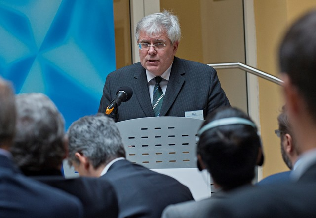 Na snímke štátny tajomník Ministerstva zahraničných vecí a európskych záležitostí SR Igor Slobodník
