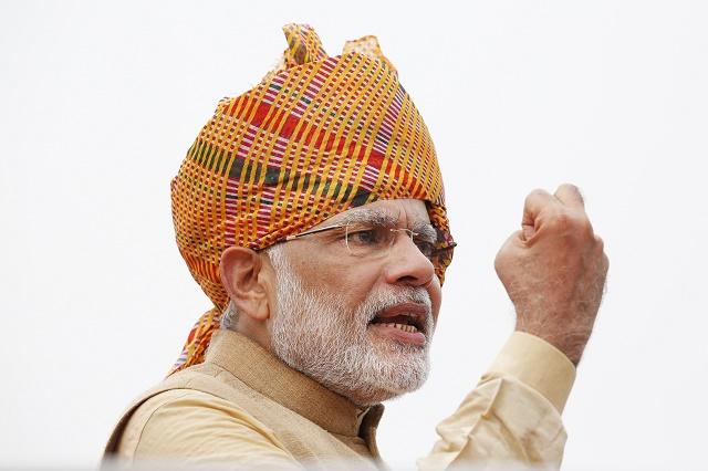 Indický premiér Nárendra Módí