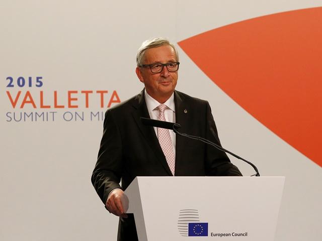 Na snímke predseda Európskej komisie Jean Claude Juncker