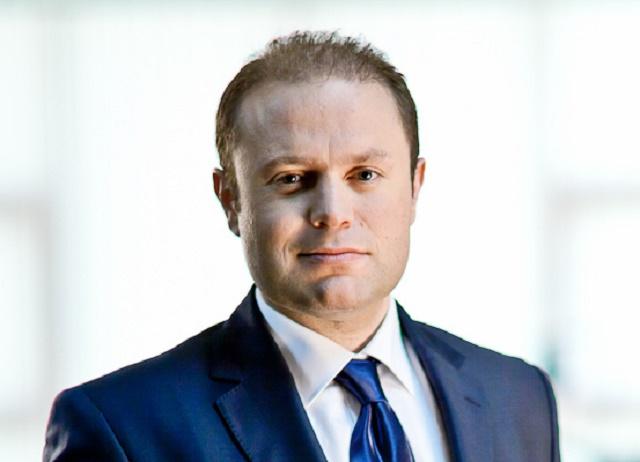 Na snímke premiér ostrovnej európskej krajiny Malta Joseph Muscat
