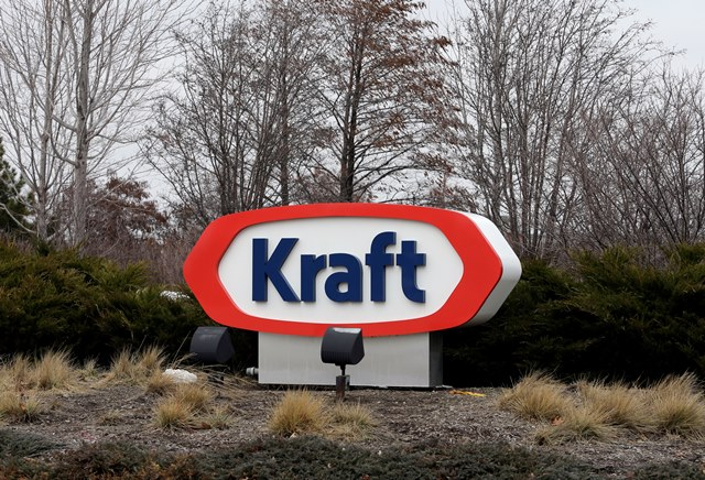 Na snímke logo spoločnosti Kraft Heinz
