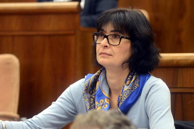 Na snímke poslankyňa Lucia Žitňanská