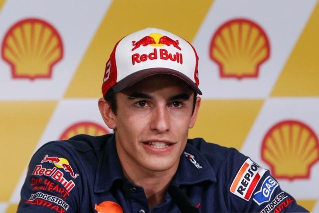 Na snímke španielsky motocyklový jazdec triedy MotoGP Marc Marquez (Honda)