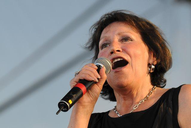 Na snímke česká speváčka Marta Kubišová