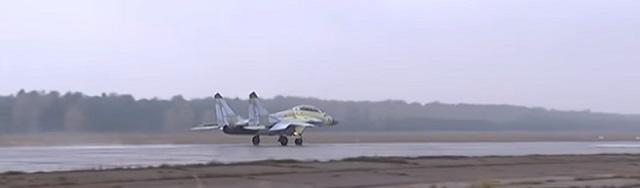 Na snímke stíhačka MiG-29K