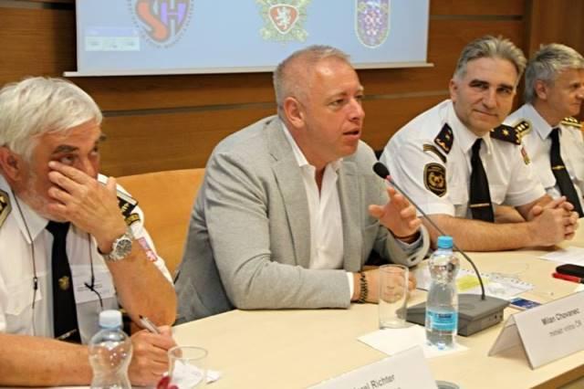 Na snímke český minister vnútra Milan Chovanec