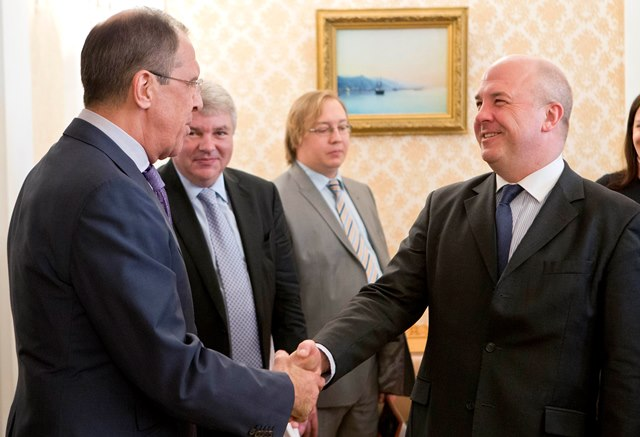 Na snímke komisár Rady Európy pre ľudské práva Nils Muižnieks