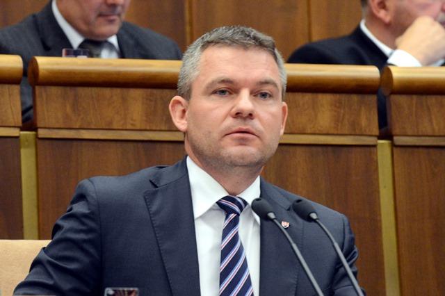 Na snímke  predseda NR SR Peter Pellegrini