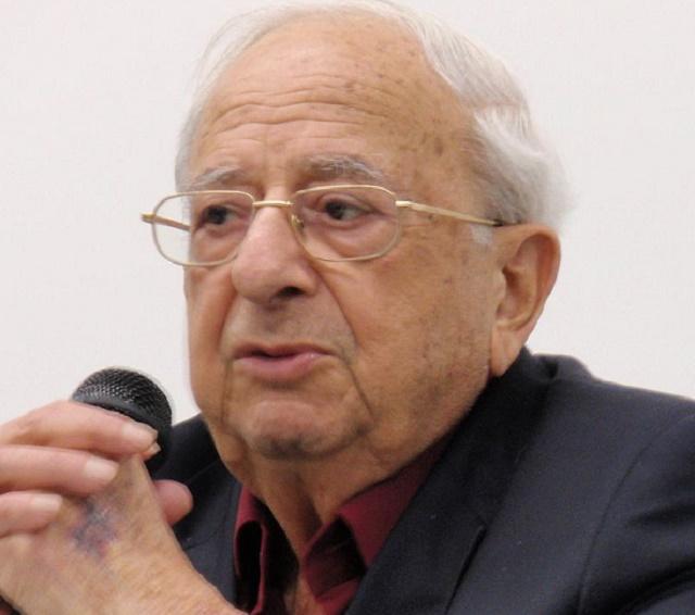 Na snímke zosnulý izraelský exprezident Jicchak Navon