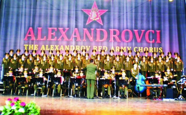Na snímke Alexandrovci