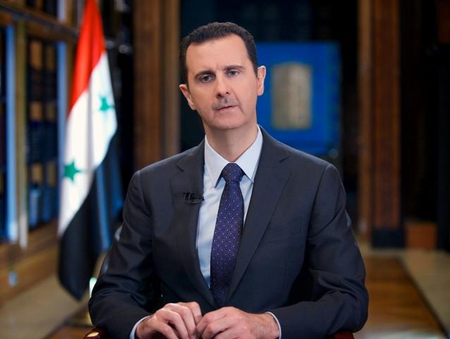 Na snímke sýrsky prezident Bašár Asad