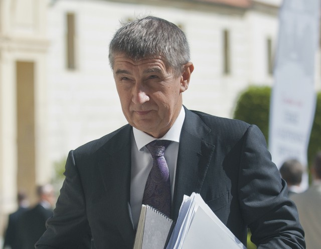 Na snímke prvý podpredseda vlády ČR a minister financií Andrej Babiš