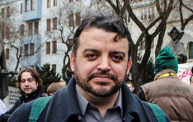 Na snímke Eduard Chmelár. Foto: Jakub Kotian