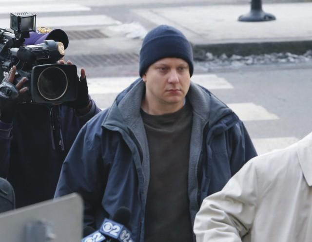 Na archívnej snímke obvinený policajt Van Dyke