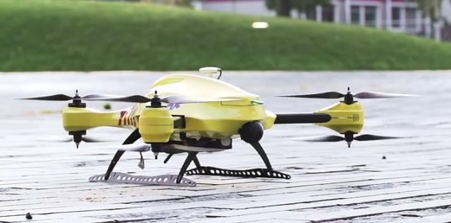 Ilustračné foto drona