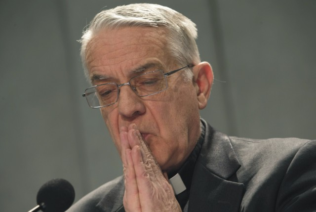 Vatikánsky hovorca Federico Lombardi