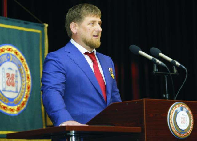 Čečenský vodca Ramzan Kadyrov