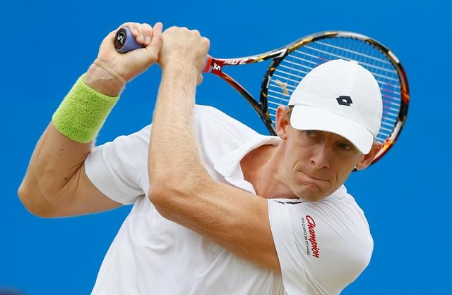Na snímke juhoafrický tenista Kevin Anderson