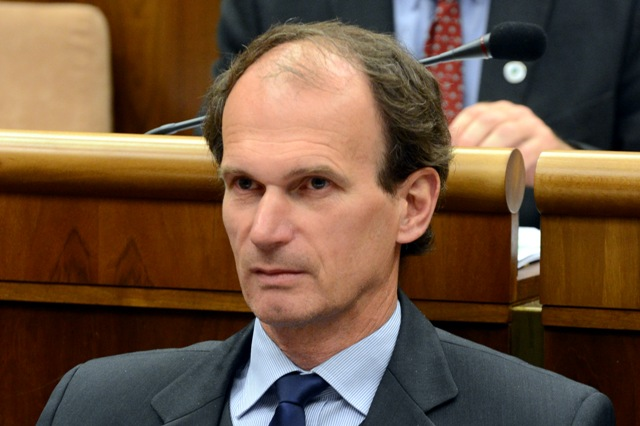 Na snímke poslanec NR SR Štefan Kuffa – OĽaNO. Foto: Štefan Puškáš