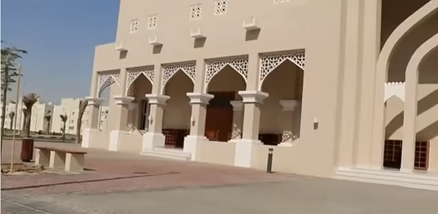 "Na snímke ukážka jednej budovy nového ""Labour City"" v Katare"